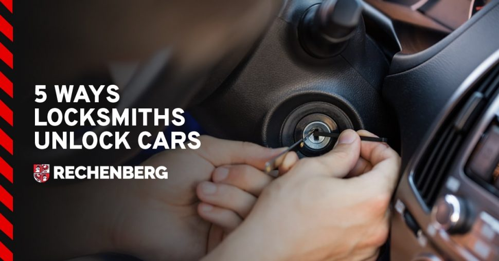 5 Ways Locksmiths Unlock Cars