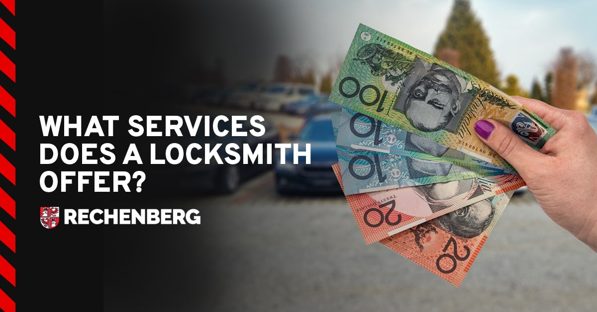 What Services Does a Locksmith Offer