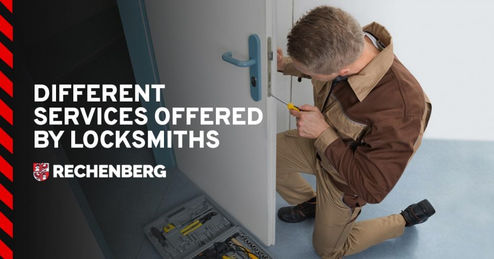 different services offered by locksmiths