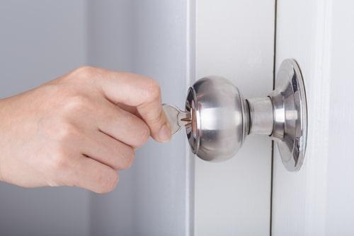 key and knob locks