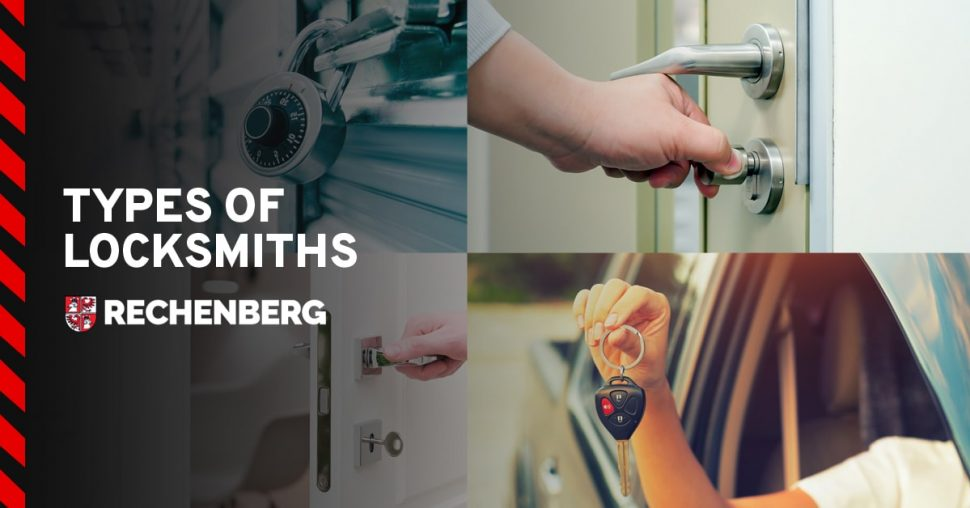 type of locksmiths