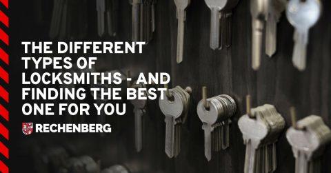 types of locksmith