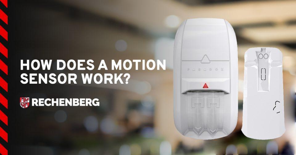 How does motion sensor work