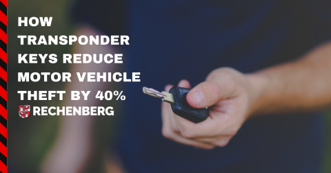 How transponders have reduced motor vehicle theft by 40%