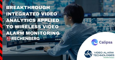 Breakthrough Integrated Video Analytics Applied to Wireless Video Alarm Monitoring